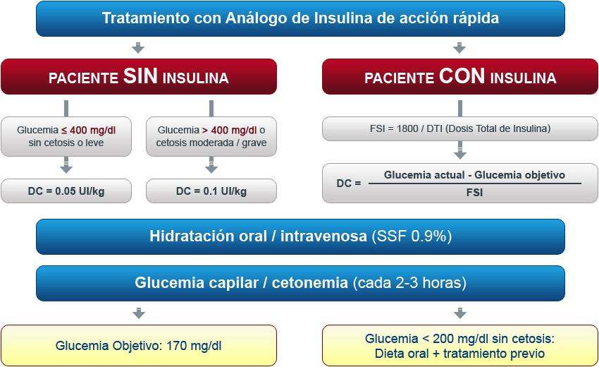 diabetes tratamiento con insulina a
